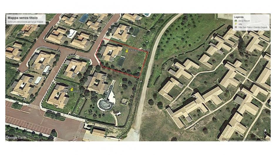 Perimetro villa Campidano 20